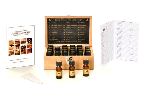 Whisky Aroma Kit - 24 Aroma Wooden Box