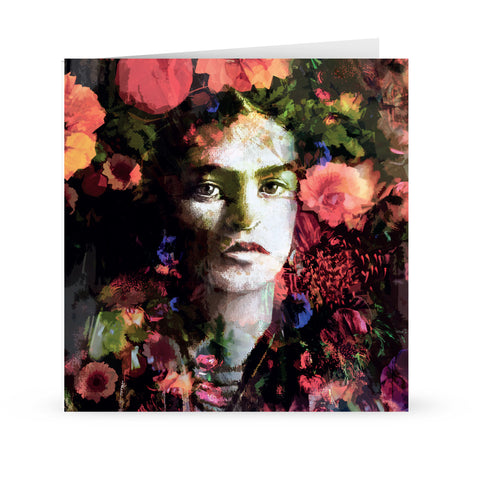 'frida in bloom'' Card