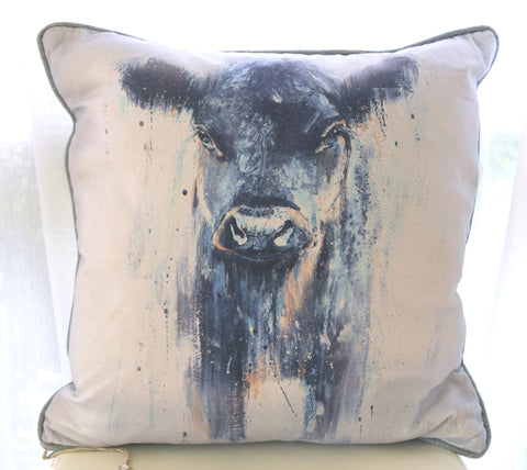 Dexter Cow cushions