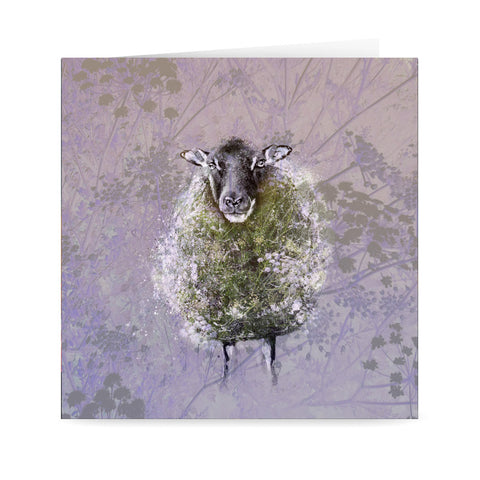 'Cow Parsley' Card