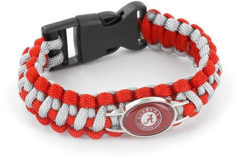 Alabama Crimson Tide Paracord Bracelets