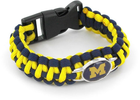 Michigan Wolverines Paracord Bracelets