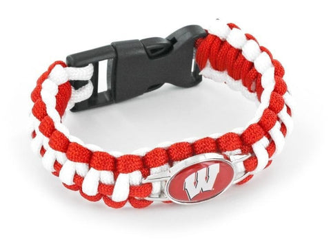 Wisconsin Badgers Paracord Bracelets