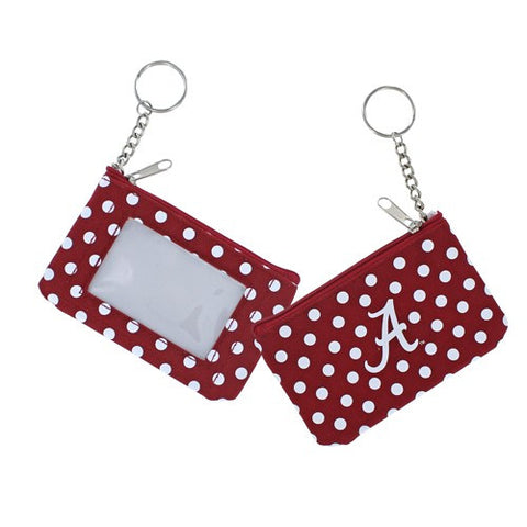 Alabama Crimson Tide Coin Purse Keychain