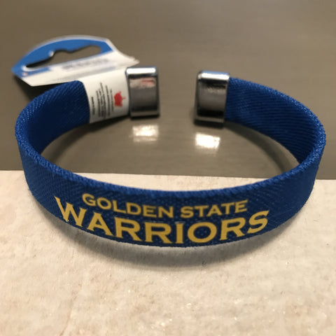 Golden State Warriors Ribbon Bracelet