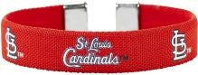 St. Louis Cardinals Ribbon Bracelet