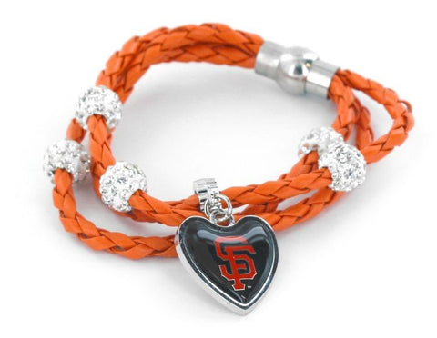 San Francisco Giants Braided Cord Bracelet