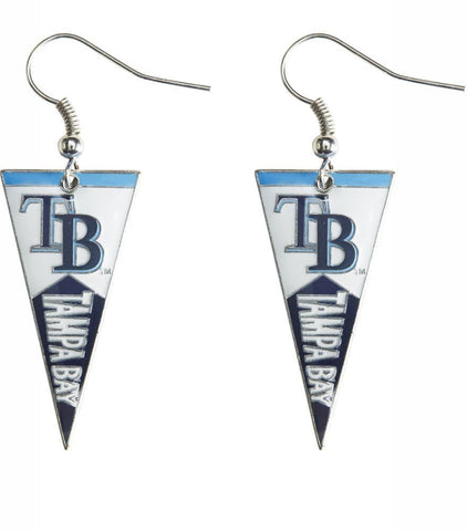 Tampa Bay Rays Pennant Earrings
