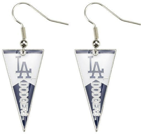Los Angeles Dodgers Pennant Earrings