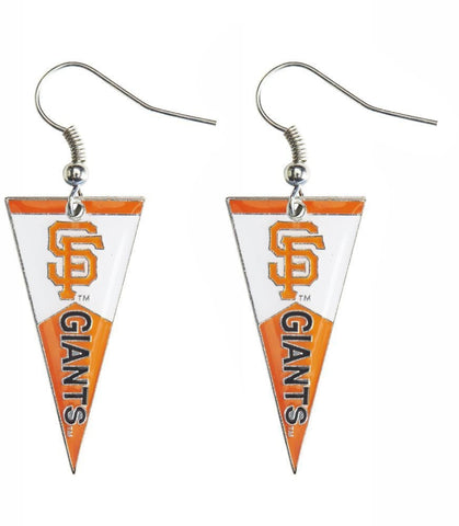 San Francisco Giants Pennant Earrings