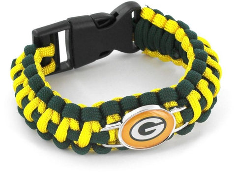Green Bay Packers Paracord Bracelets