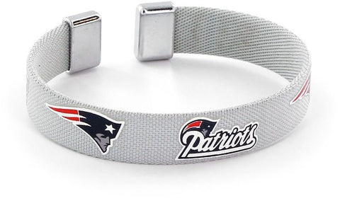New England Patriots Ribbon Bracelet