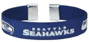 Seattle Seahawks Ribbon Bracelet