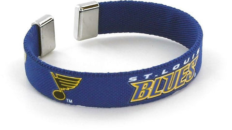 St. Louis Blues Ribbon Bracelet