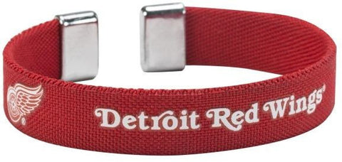 Detroit Red Wings Ribbon Bracelet