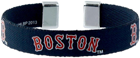 Boston Red Sox Ribbon Bracelet