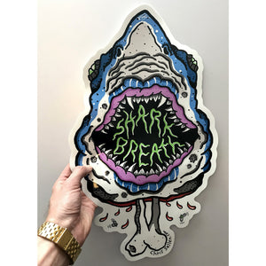 Big Azz Shark Breath Sticker