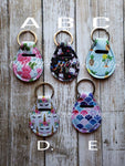 Quarter Holder Keychain (choose your print)