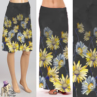 Daisies - Midi or Maxi - skirt/dress