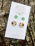 Fresh Sunflower Duo Earrings