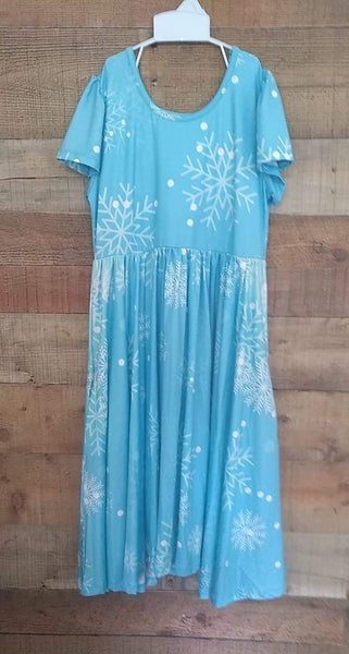 Snowflake Twirly Dress