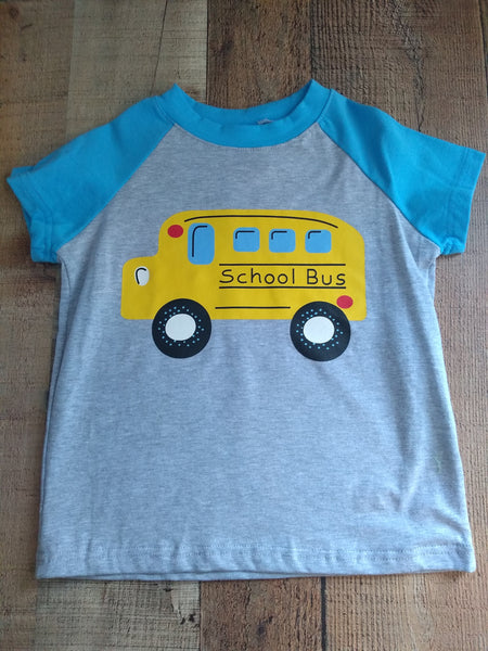 Boys School Bus T-Shirt