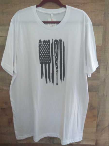 Baseball Flag Graphic Tee