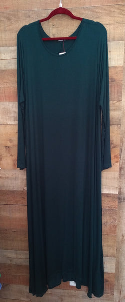 Forest Full Length Long Sleeve Dress