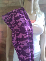 Ext+ Leggings - Purple Camo