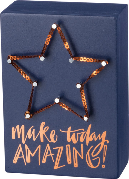 Make Today Amazing - String Art