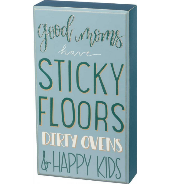 Sticky Floor - Happy Kids Box Sign