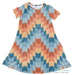 Auburn Aztec Dress