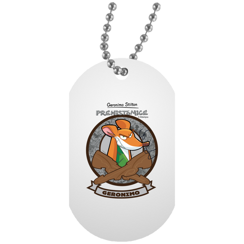 White Dog Tag