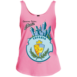 Junior Fit Custom Printed Cotton Tank Top