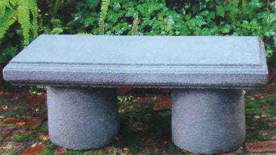 Classic Bench with column legs