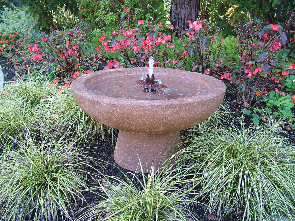 Gaia Fountain with Lillie Flower