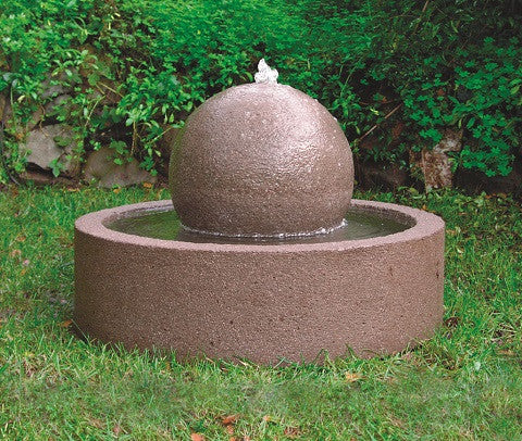 Tub and Sphere Fountain