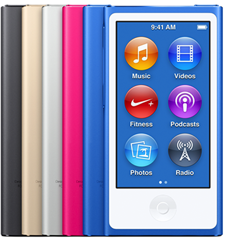 iPod nano (7th generation Mid 2015)
