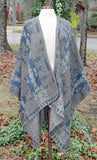 Taupe Mayan Print One Size Wrap