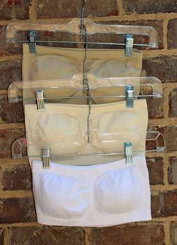 Padded Bandeaus-Nude, White, Ivory and Coral