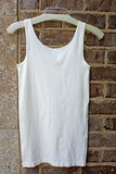 Wide Strap Seamless Tank in Ivory