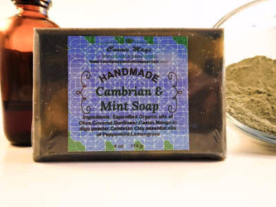 Cambrian Clay & Mint Soap