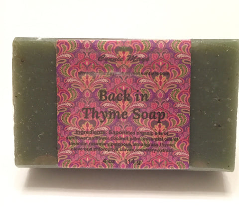 Back In Thyme Soap