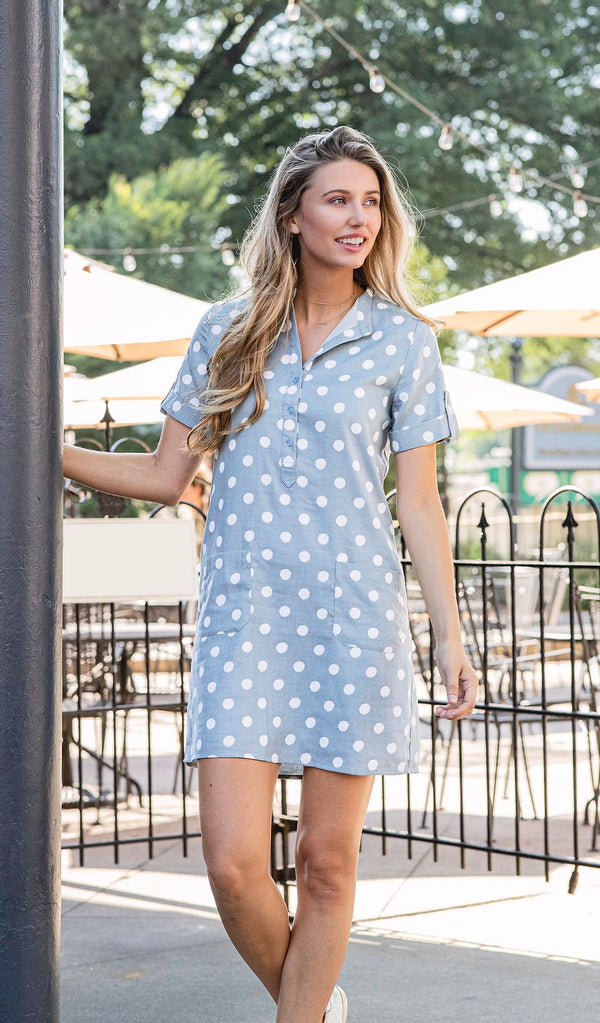JOY JOY | Placket Dress