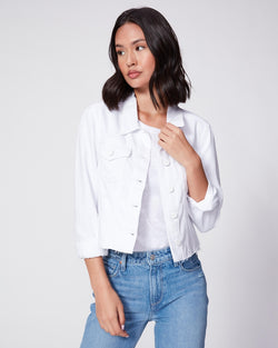 PAIGE White Relaxed Vivienne Jacket