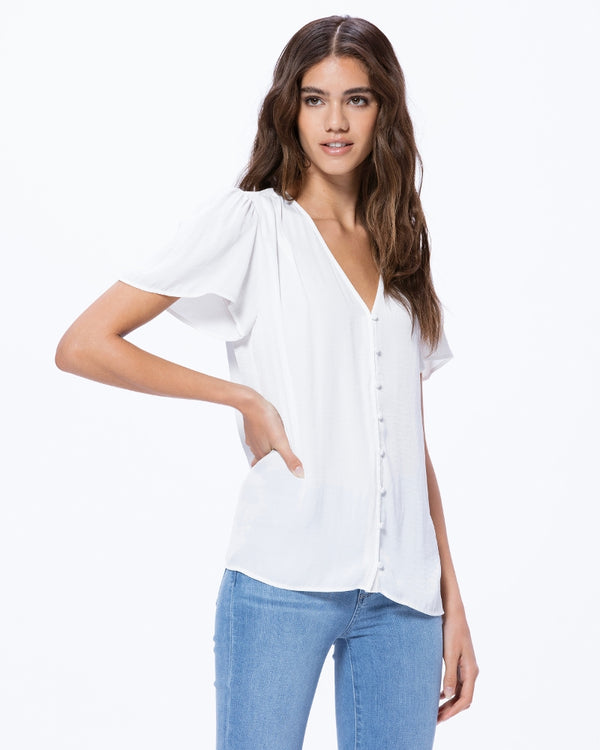 Paige Kelly Top - White