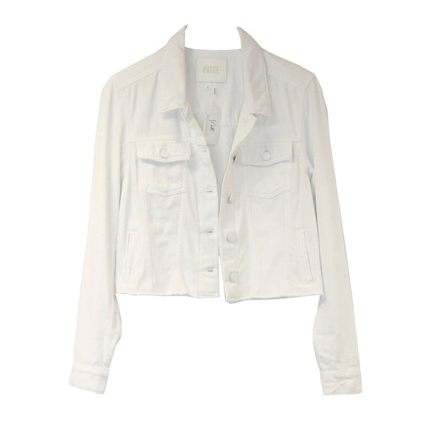 PAIGE | White Relaxed Vivienne Jacket