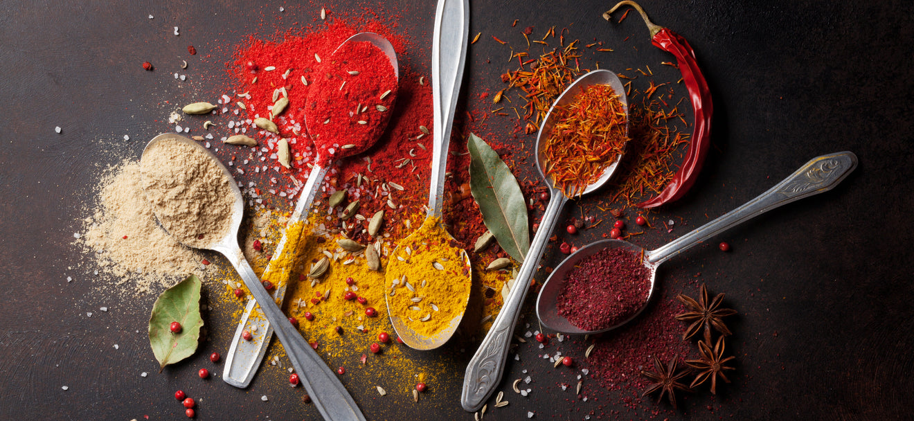 REINVENT YOUR MEALS WITH HEALTHY SPICES & SEASONINGS