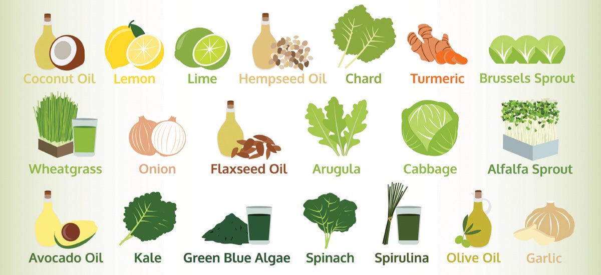 20 VERSATILE DETOXING & CLEANSING FOODS