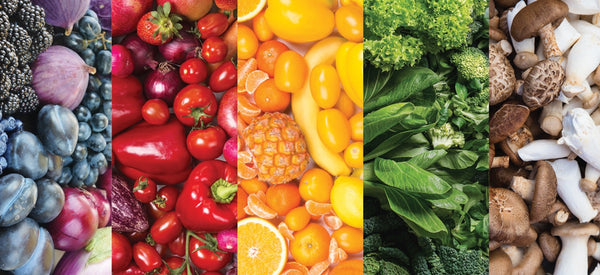 A COLORFUL DIET FOR OPTIMAL SKIN HEALTH AND WELLNESS